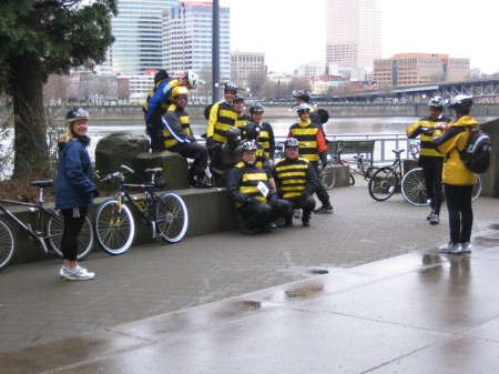 Worst Day of the Year Ride - Bee Costumes