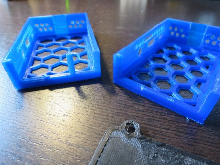 RaspberryPi Cases with Broken Parts