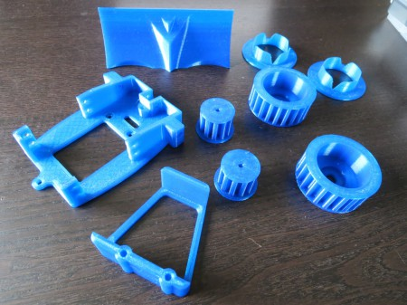 3d Printed Parts to Build a Bulldozer Robot