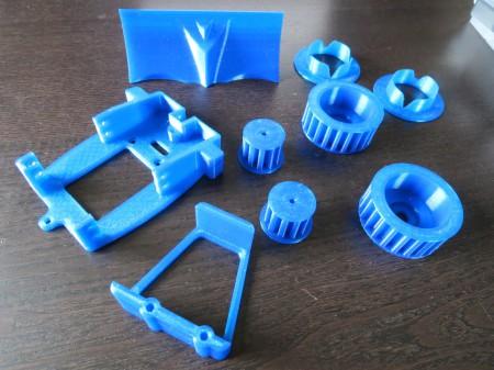 3d Printed Parts to Build a Bulldozer Robot